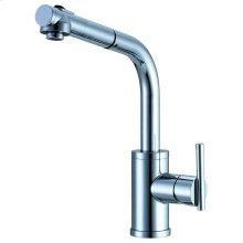 Chrome Parma® Single Handle Pull-Out Kitchen Faucet
