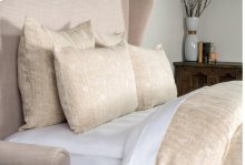 French Herringbone Natural King Duvet 108x94