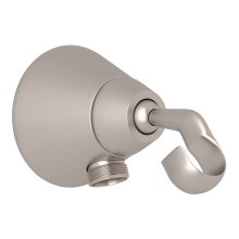 Satin Nickel Handshower Outlet And Handshower Holder