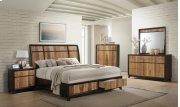 Ava Espresso & Natural Walnut Dresser Product Image