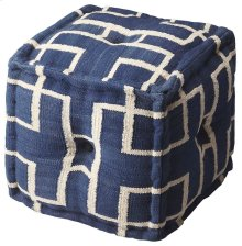 This square pouf has a distinctive and stylish geometric pattern that is soon to be a conversation piece. With a fun and fresh pattern, these poufs make a simple, yet sophisticated statement in any room or a place to simply rest your feet after a long day