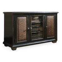 Home Entertainment Telluride Plasma Console - Black w/Leather Product Image
