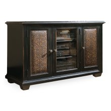 Home Entertainment Telluride Plasma Console - Black w/Leather