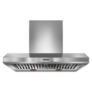 Kitchenaid48'' Wall-Mount 600-1200 CFM Canopy Hood, Commercial-Style Stainless Steel