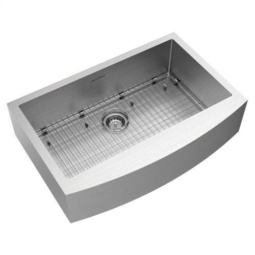 Pekoe 33x22-inch Stainless Steel Farmhouse Sink  American Standard - Stainless Steel