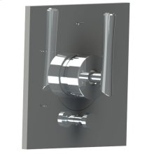 2435rd-tm Pressure Balanced Control With Diverter in Polished Chrome