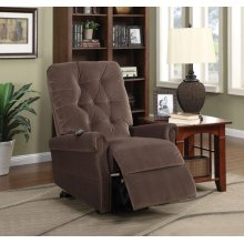 CHOCO RECLINER W/POWER LIFT