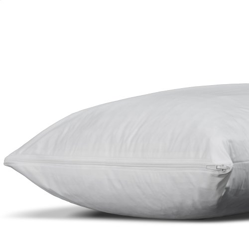 Sleep Calm Pillow Encasement with Stain and Dust Mite Defense, Standard / Queen