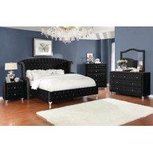 Deanna Contemporary Queen King Bed
