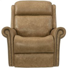Evan Power Motion Chair in #44 Antique Nickel