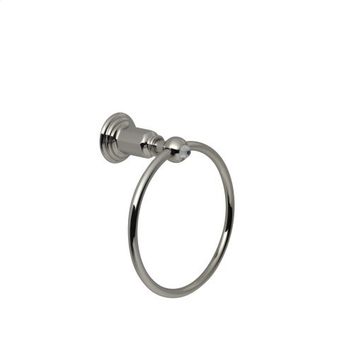 Towel Ring in Polished Chrome