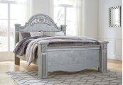 Zolena - Silver 3 Piece Bed Set (King)