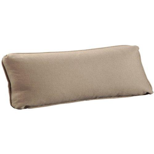 "Throw Pillows Knife Edge Kidney w/welt (13"" x 27"")"