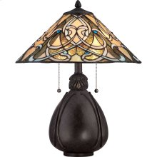 India Table Lamp in Imperial Bronze
