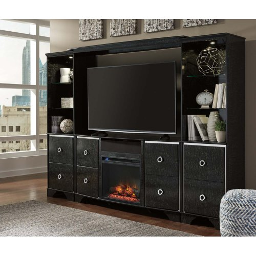 Amrothi Black 2 Piece Entertainment Set