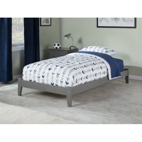 Concord Twin XL Bed in Atlantic Grey