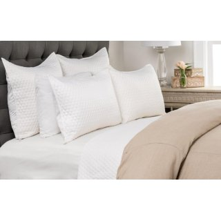 Diamond White King Quilt 108x96
