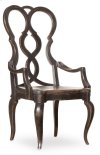 Dining Room Auberose Splatback Wood Seat Arm Chair