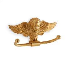 Antique Gold Cherub Hook