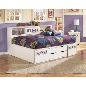 Ashley Furniture Zayley - White 3 Piece Bed Set (Full)