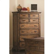Elk Grove Rustic Eight-drawer Chest Product Image