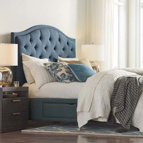 Custom Uph Beds Florence Twin Clipped Corner Bed