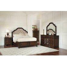 Ilana Traditional Antique Java Queen Bed