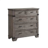 Chest, 5 Drawer Media Product Image