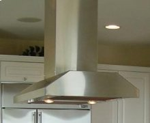 """Slim Line Island with Twin Ducts - 28"""" Depth"""