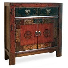 Living Room Asian Two-Door/One-Drawer Hall Chest