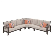 Cordova Reef - Dark Brown 5 Piece Patio Set