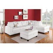 KIVA WHITE SECTIONAL SOFA Product Image