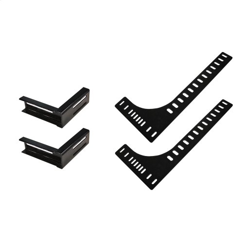 Headboard Bracket Kit for 2-Piece Furniture Style Bases (TXL/FXL/Q)