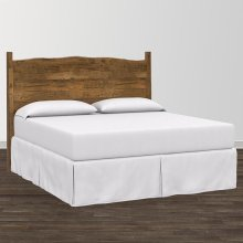 Bench*Made Maple Queen Upholstered Panel Bed