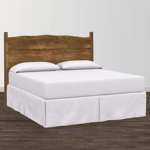 Bench*Made Maple King Upholstered Panel Bed
