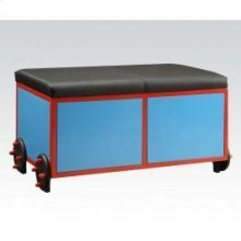 Blue/bk Train Bench