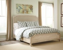 Demarlos - Parchment White 3 Piece Bed Set (Cal King)
