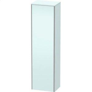 Tall Cabinet, Light Blue Matt Decor