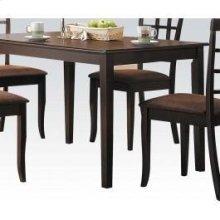 Espresso Dining Table