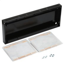 """Optional 30"""" Non-Duct Kit for BROAN AP1 and RP2 series range hoods in Black"""