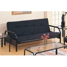 Casual Black Futon Frame
