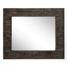 Rustic Black Olive Finish Caminito Rectangular Mirror