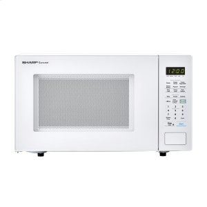 Sharp1.4 cu. ft. 1000W Sharp White Countertop Microwave Oven