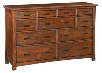DAO 11-Drawer Prairie City Dresser Product Image