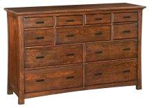 DAO 11-Drawer Prairie City Dresser
