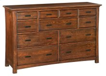 DAO 11-Drawer Prairie City Dresser
