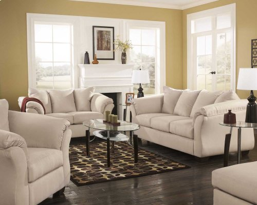 Ashley Sofa & Love Seat Package - Darcy - Stone