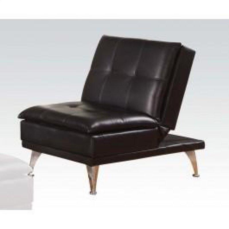 Black Pu Adjule Chair