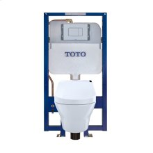 MH® WASHLET®+ C200 Wall-Hung Toilet - 1.28 GPF & 0.9 GPF - Copper Supply - Matte Silver