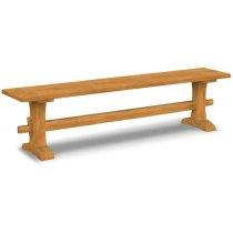 Live Edge Trestle Bench Product Image